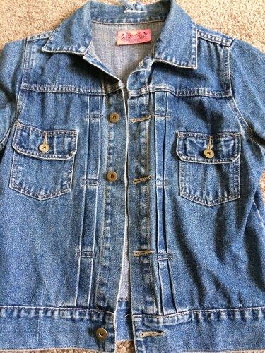 Juicy Couture 'Juicy' Distressted Denim Jacket