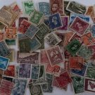 Vintage Postage Stamps Worldwide Lot of 100