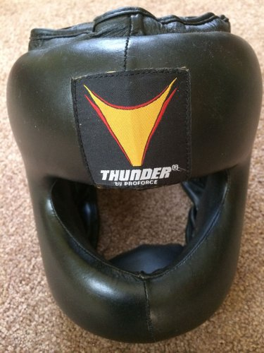 ProForce Thunder Leather MMA Headgear L/XL
