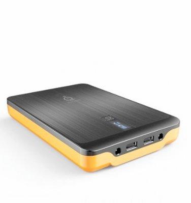 Intocircuit Power Monster 32000mAh Portable Charger Power Bank w 3-Port Output US/EU/UK Plug