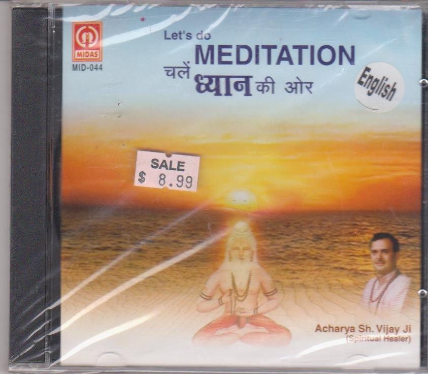 Let's Do Meditation - Acharya Shree Vijay Ji[Cd]