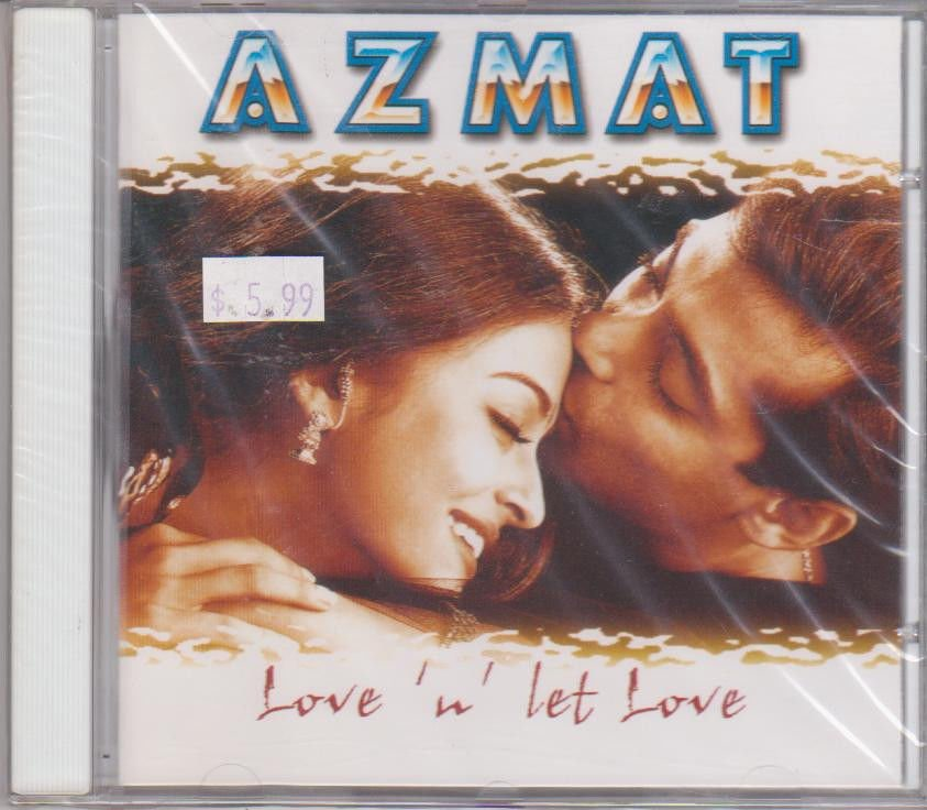 Love n Let Love By Azmat  [Cd] UK made Cd
