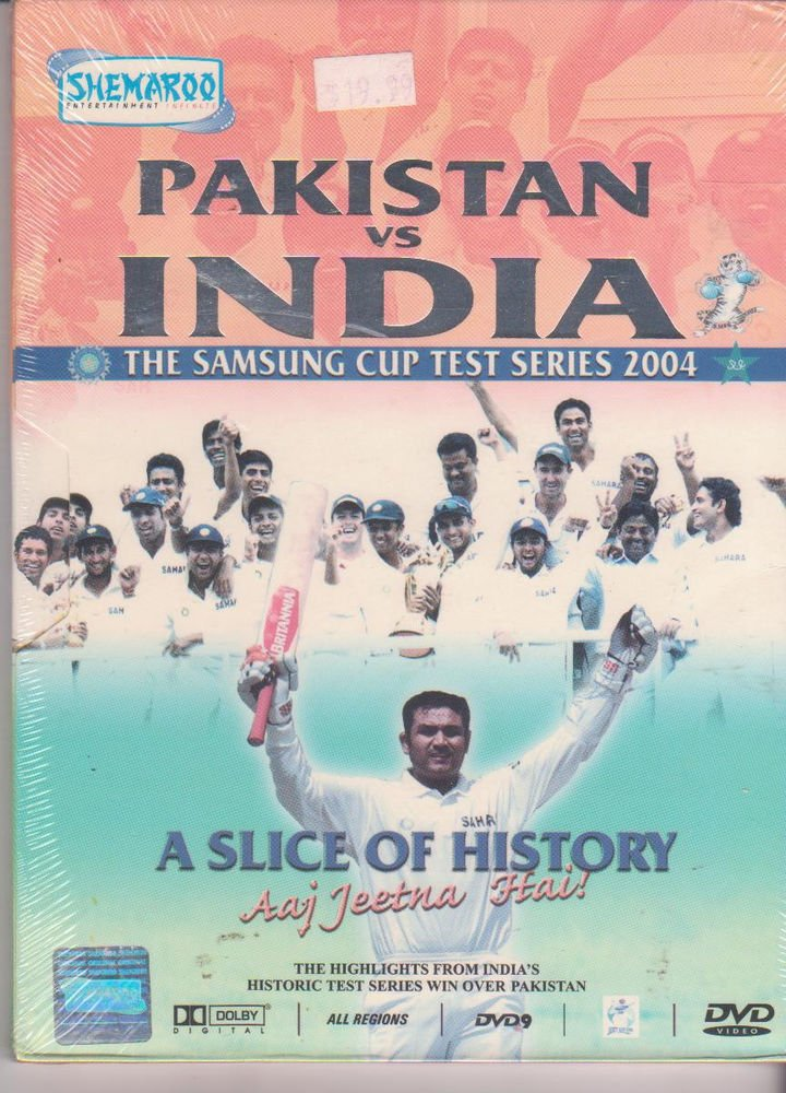 Pakistan v/s India - samsung Cup Test & One Day Series 2004  [2 Dvd's Set]