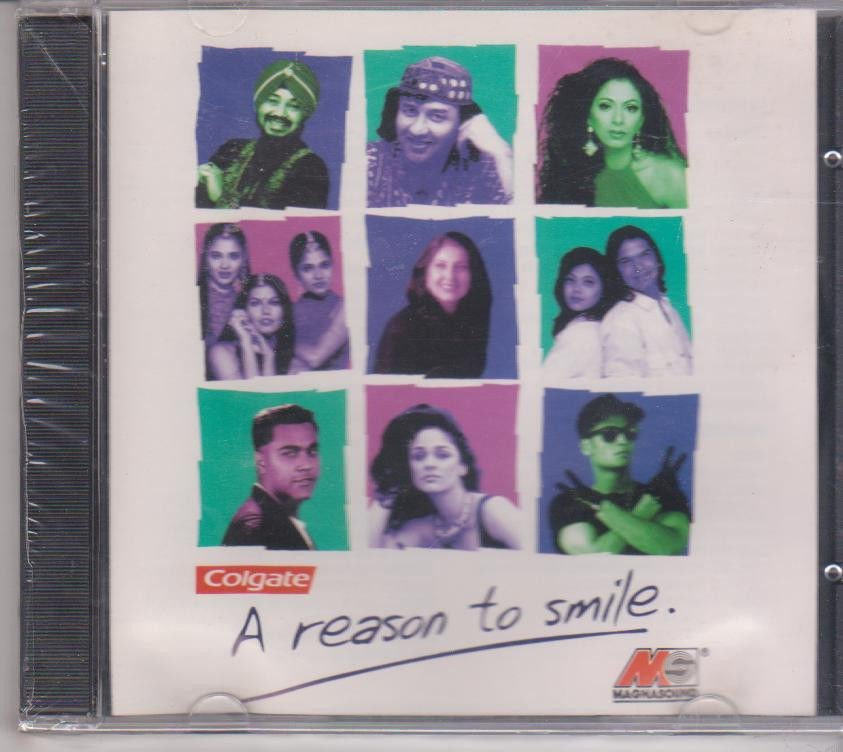 A Reason to Smile  [Cd ] By daler Mehndi,Anu Malik,Suneeta Rao,Shweta,Models