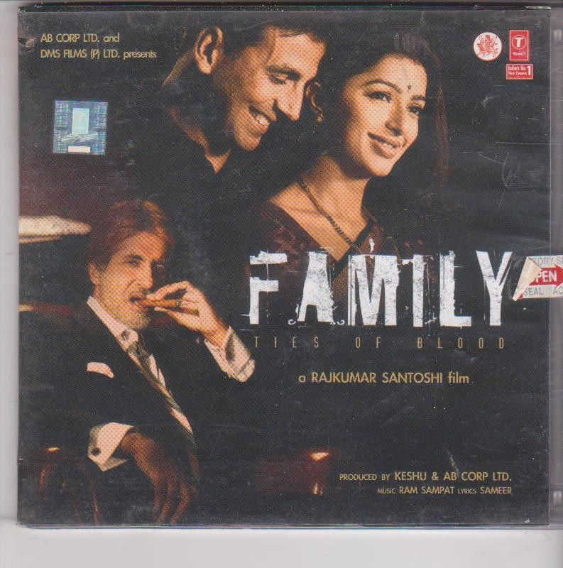 Family - Amitabha Bachchan [Cd ] Music : Ram sampat