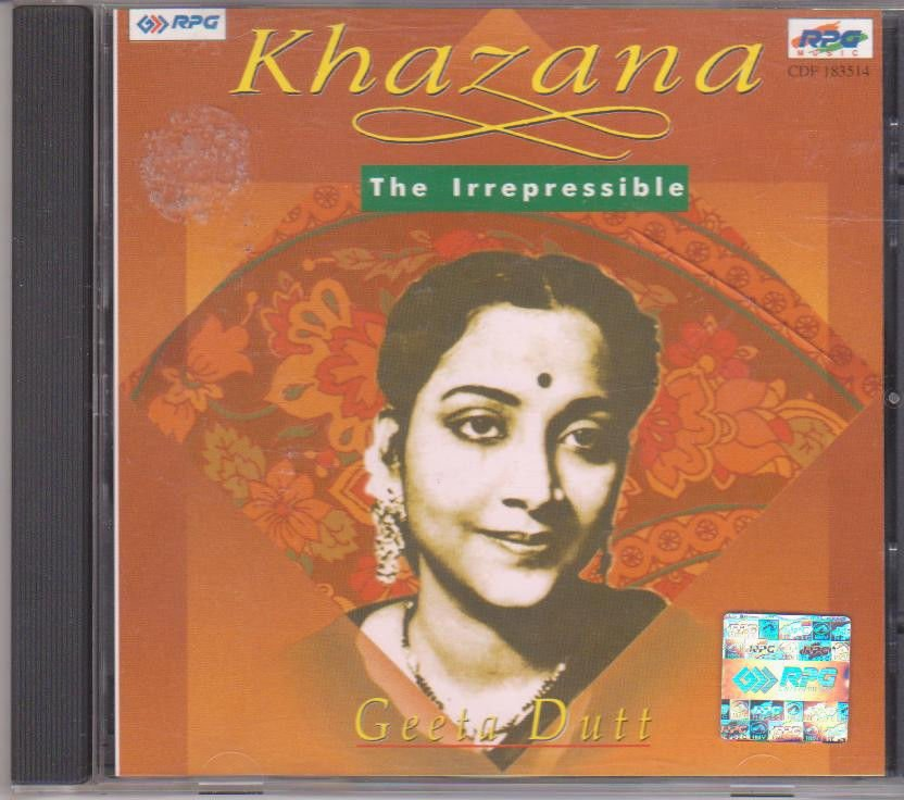 Khazana - Geeta Dutt - The Irrepressible   [Cd] Uk Made Cd