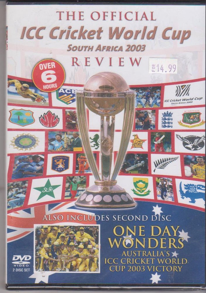 Icc Cricket World cup South Africa 2003 Review - One day Wonders [2 Dvd's Set]