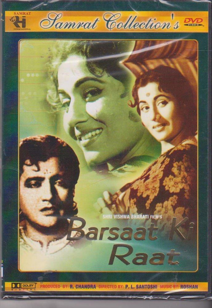 Baraat Ki Raat - Bharat Bhushan , Madhubala  [Dvd] Original  Released