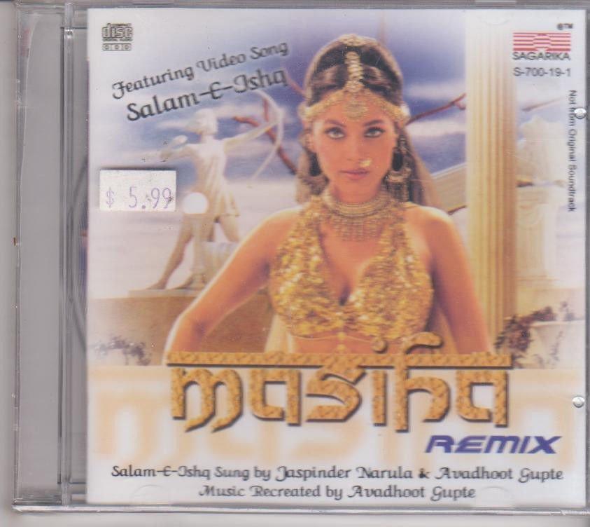 Masiha Remix  [Cd] Jaspinder Narula , Avdhoot gupte