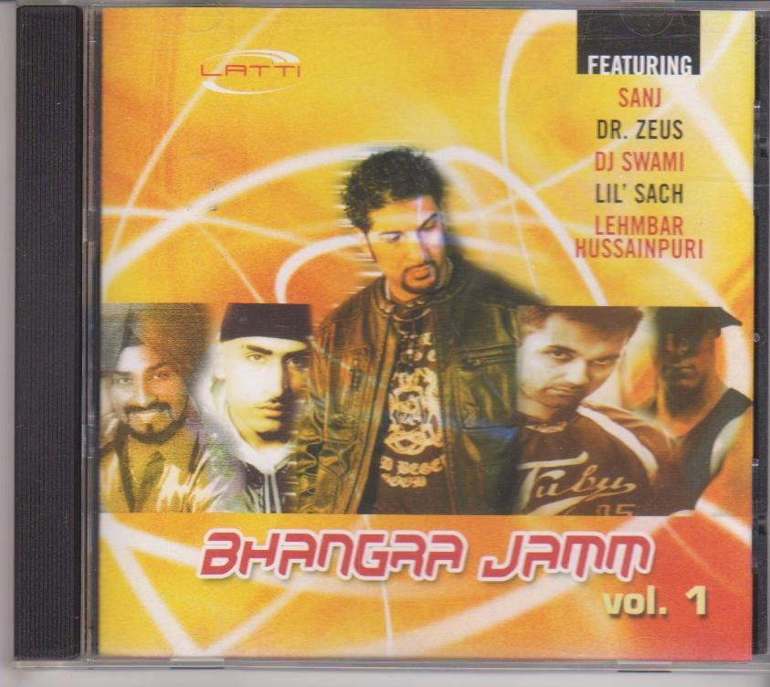 BHangra Jamm Vol 1 [Cd ]BY sanj,Dr Zeus, Dj Swami,Lil' Sach, Lehmber Hussainpuri