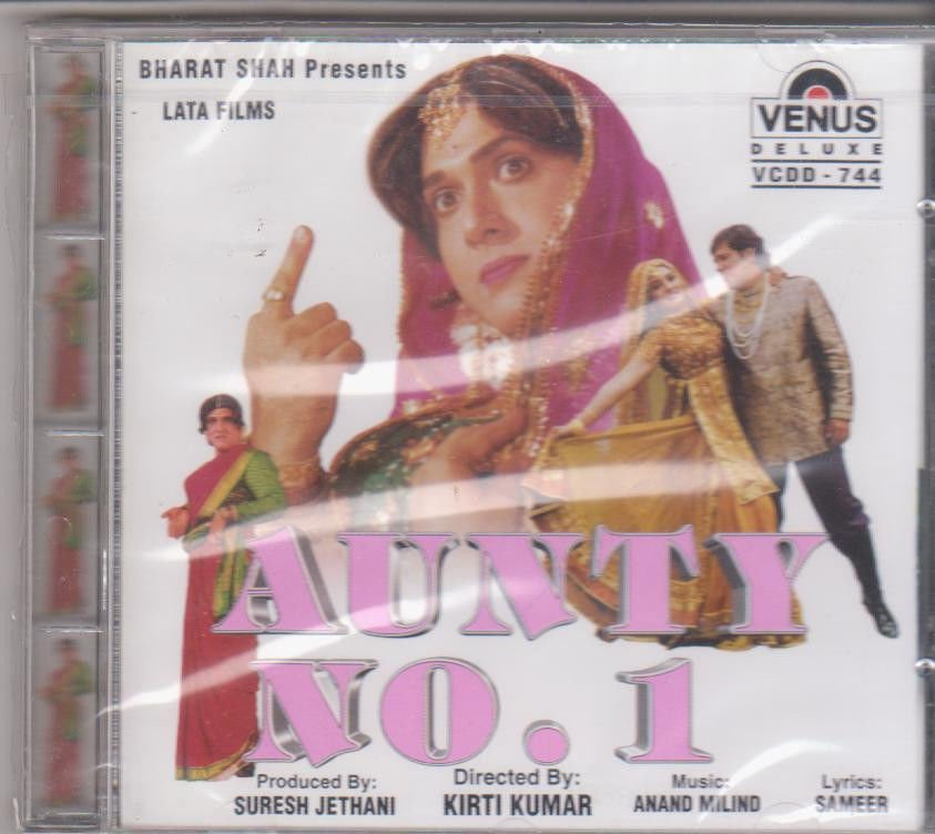 Aunty No 1 - Govinda  [Cd ] Music : Anand Milind