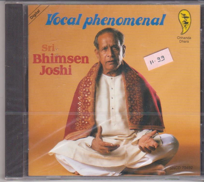 Vocal Phenomenal  - BHimsen Joshi [Cd] Raga Multani,jaunpuri,Bhjan -Germany Made