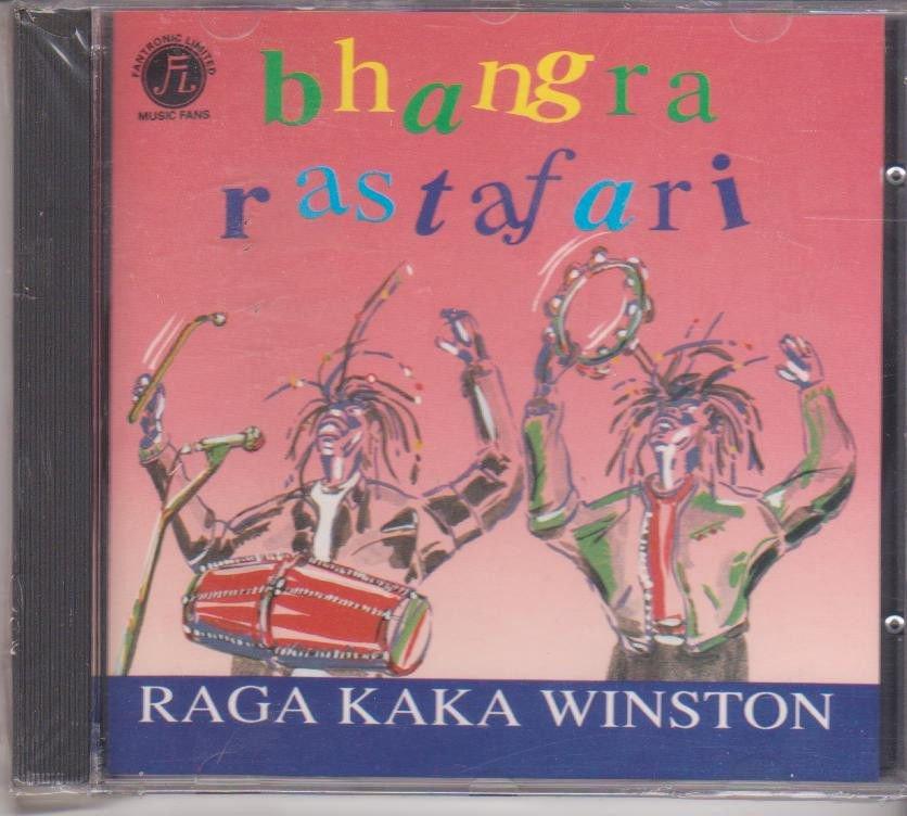 Bhangra rastafari - raga kaka Winston    [Cd] UK made Cd