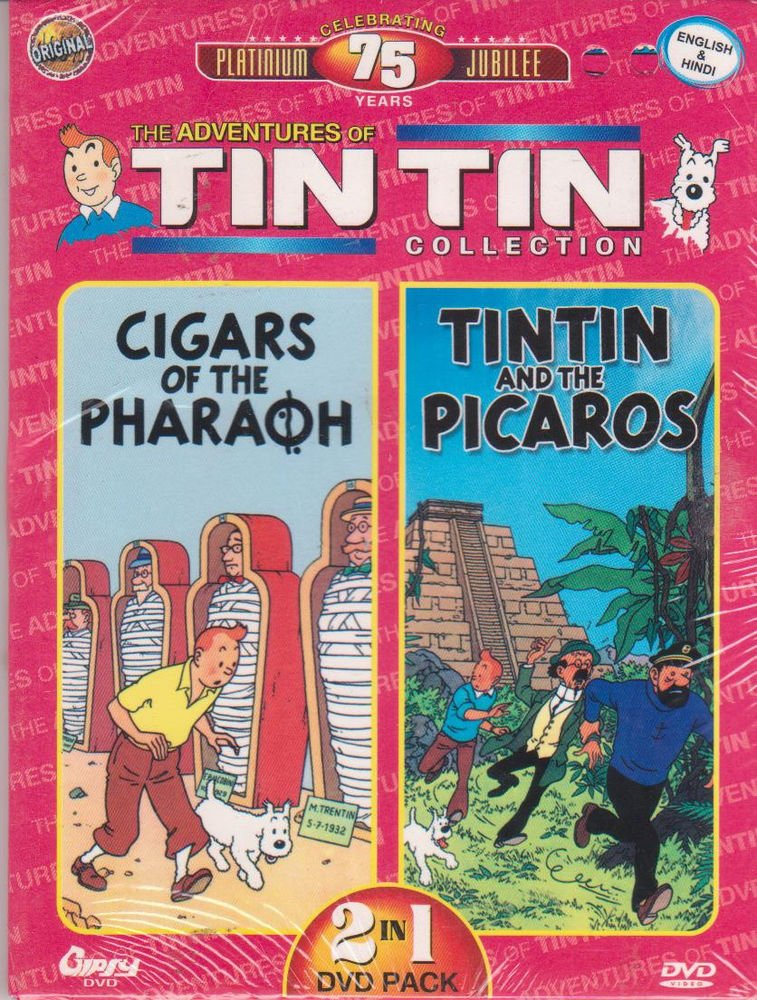 The Adventures Of Tintin  - Cigars Of Pharaoh / Tintin and the picaros  [Dvd]