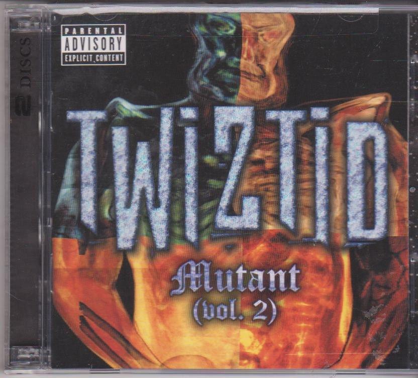 Twiztid - Mutant 2  [2Cd's set ]