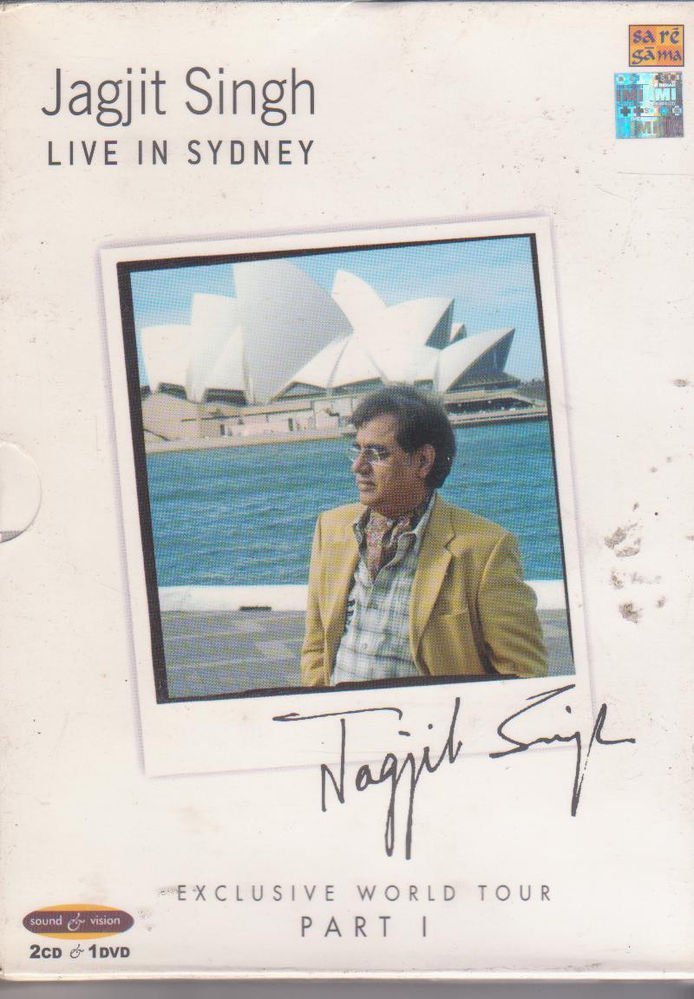 Jagjit Singh Live in Sydney - 2 Cds + 1 Dvd  [3 Disc Set] Collector's Item