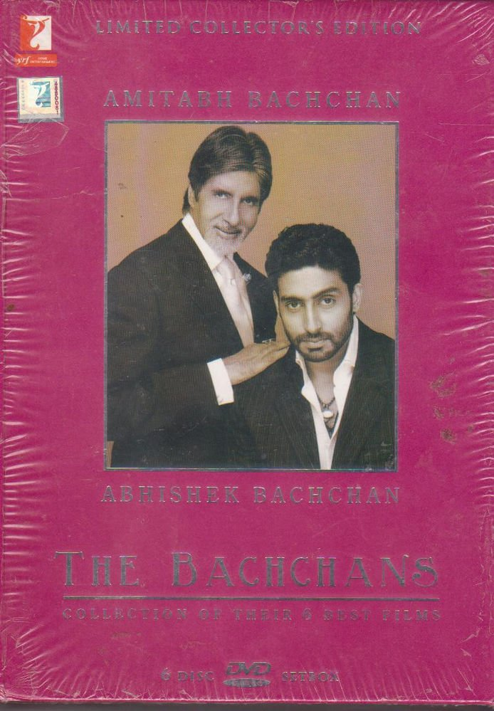 The Bachchans  [6Dvd Set] Kabhi Kabhi , Silsila ,kala pathhar,dhoom,Bunty Babli