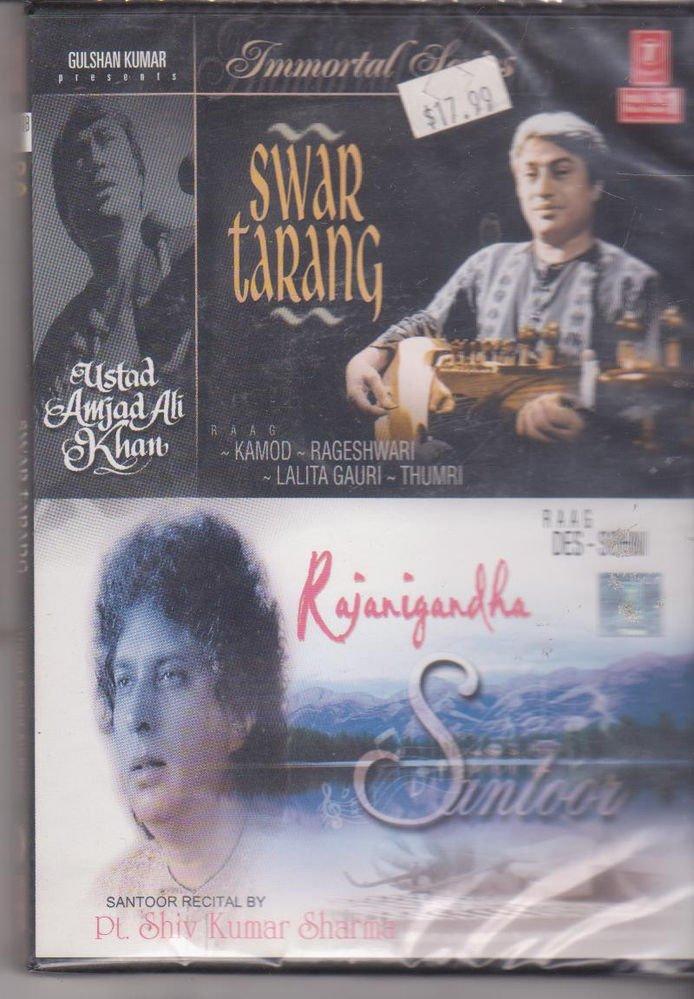Swar Tarang - Ust amjad Ali Khan  / Rajni Gandha - Pt shivkumar Sharma  [Dvd]