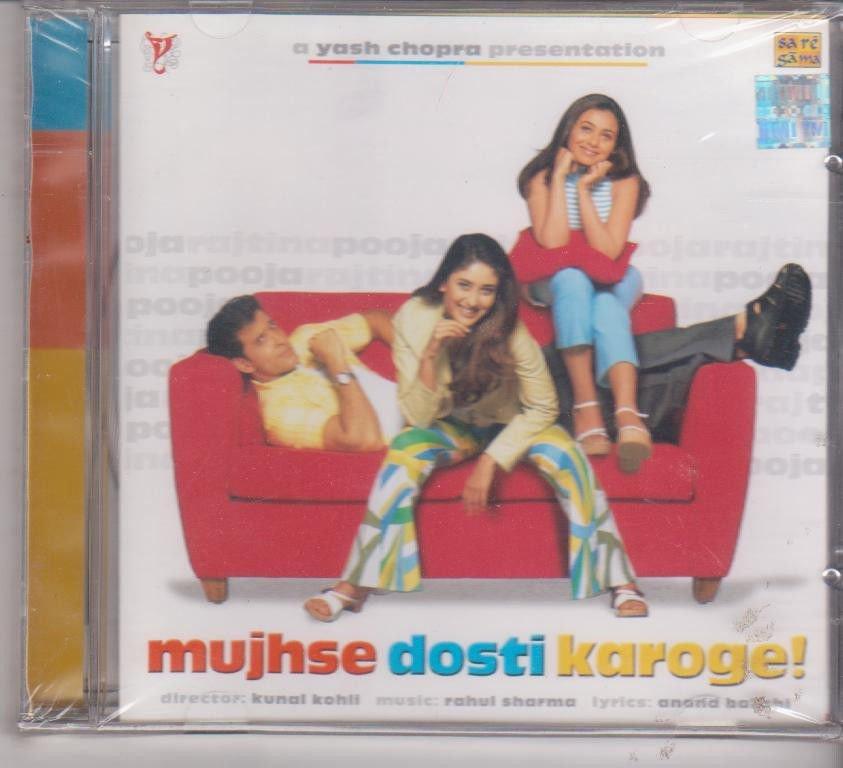Mujhse Dosti Karage - Hrithik Roshan   [Cd] Music : Rahul Sharma