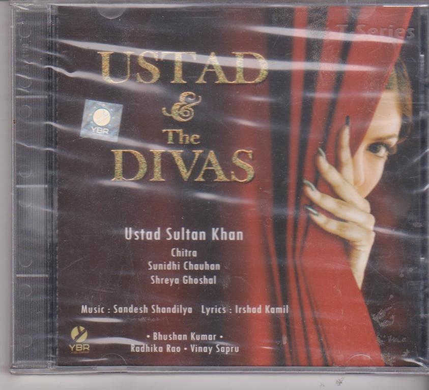 Ustad & Divas By Ust Sultan Khan , Sunidhi Chauhan , Shreya Ghoshal  [Cd]