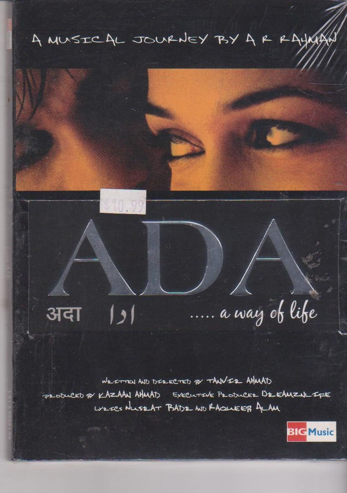 Ada - A Way Of Lifw - Music A R Rahman   [Cd ]