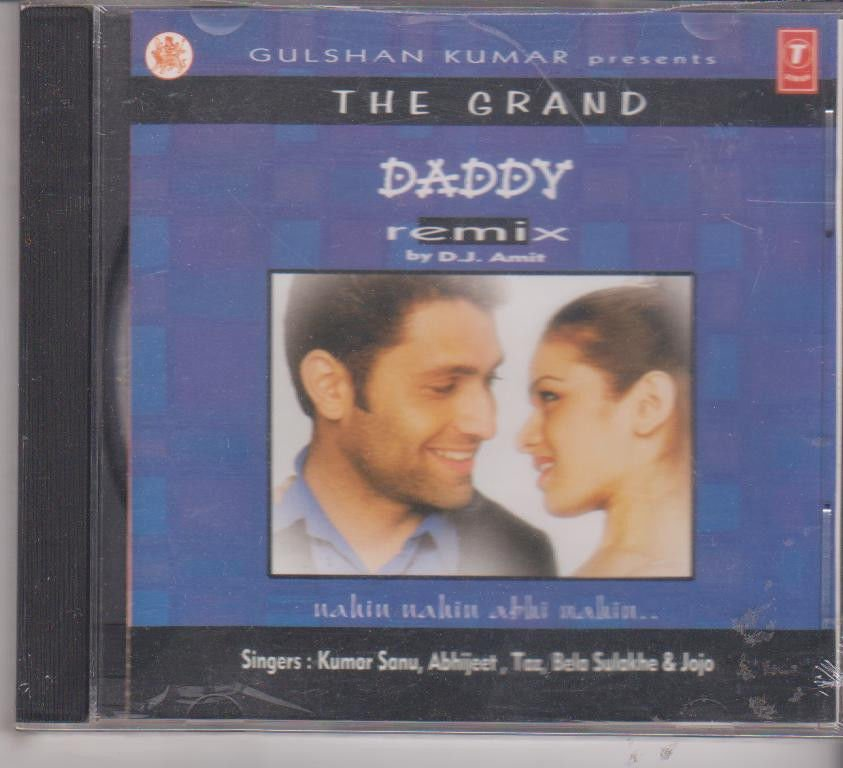 The Grand daddy remix   [Cd]  Music : D J Amit - Kumar sanu , abhijeet , Bela