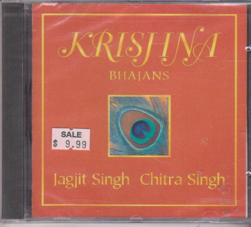 Krishna BHajans By Jagjit Singh Chitra Singh   [Cd] UK Made