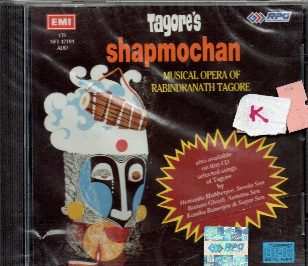 Tagore's Shapmochan - Musical Opera Rabindranath tagore  [Cd ] Uk Made cd