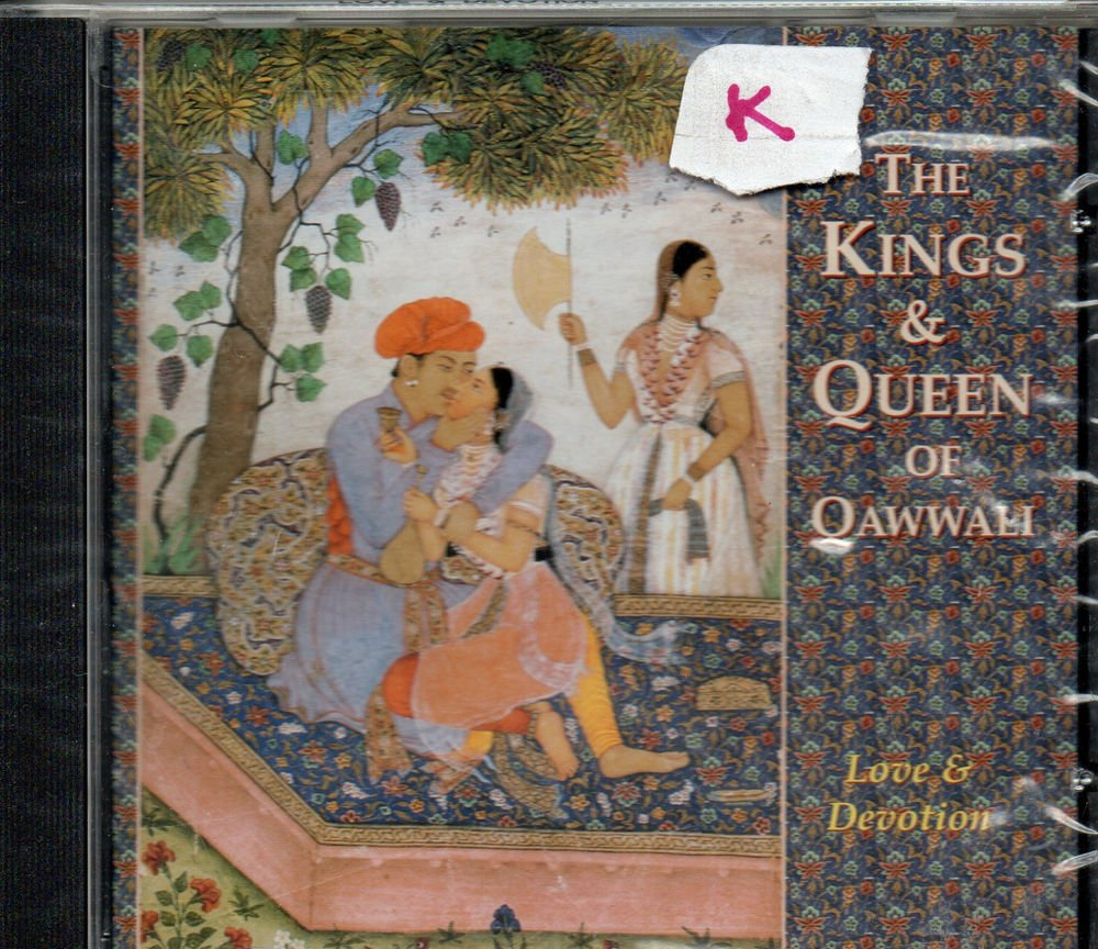 king and queen of Qawali - Abida Parveen, Nusrat fateh Ali, Aziz Nazan  [Cd ]