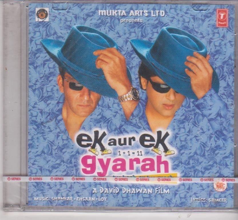 Ek Aur Gyarah - sanjay dutt , Govinda  [Cd ] Music Shankar ehsan Loy