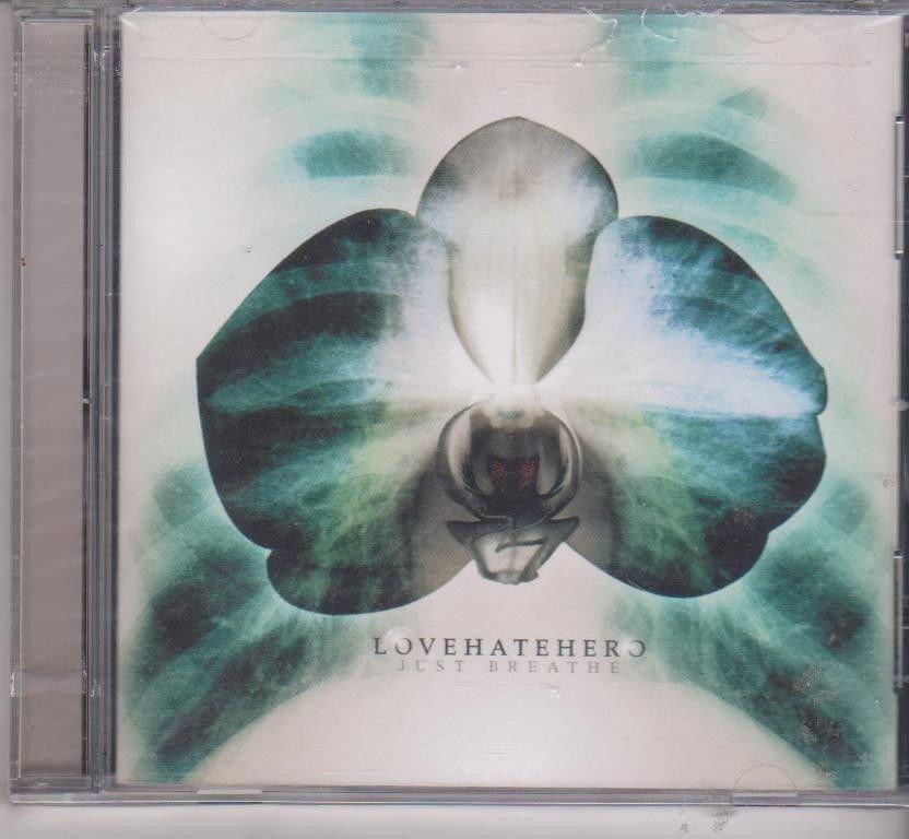 Just Breathe by Lovehatehero [Cd ]