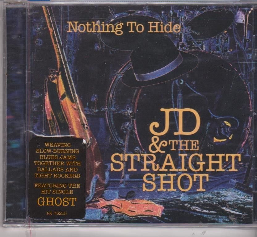 Nothing to Hide by JD & the Straight Shot [Cd ]