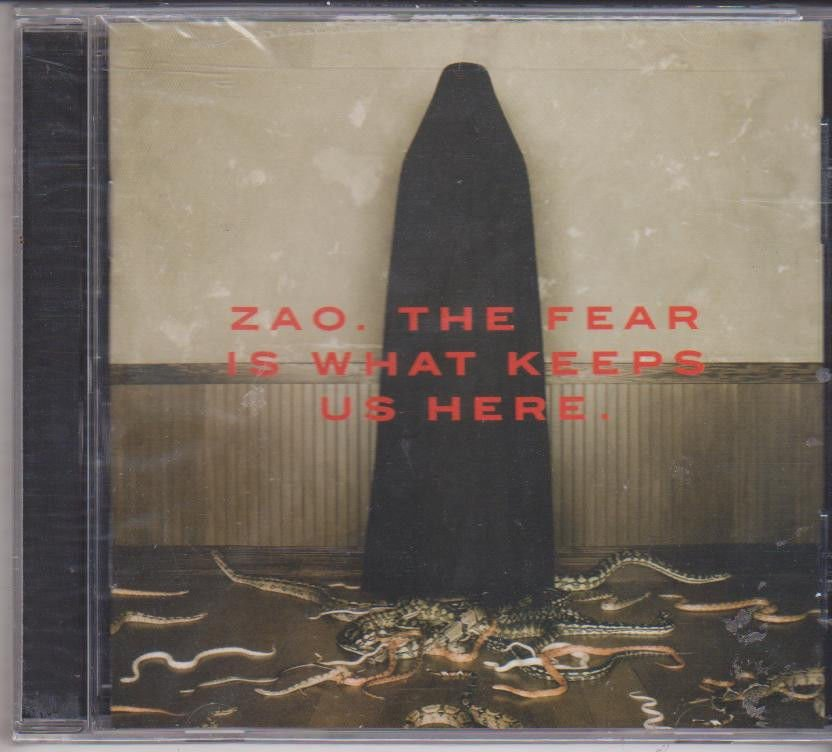 Zao The Fear Is What Keeps Us here  [Cd ]