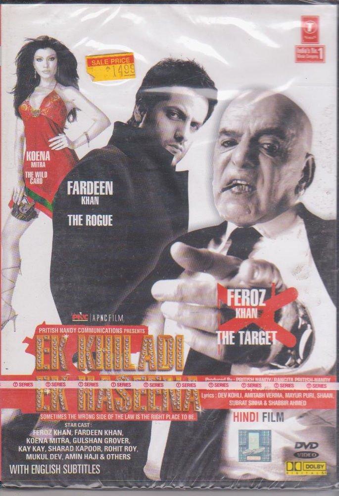 Ek Khiladi Ek haseena - Fardeen Khan, Koena Mitra [Dvd] a Film By Feroz Khan