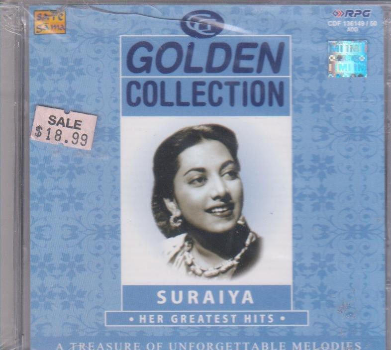 Golden  collection Suraiya  [2Cd's Set] Evergreen Hits Of Suraiya