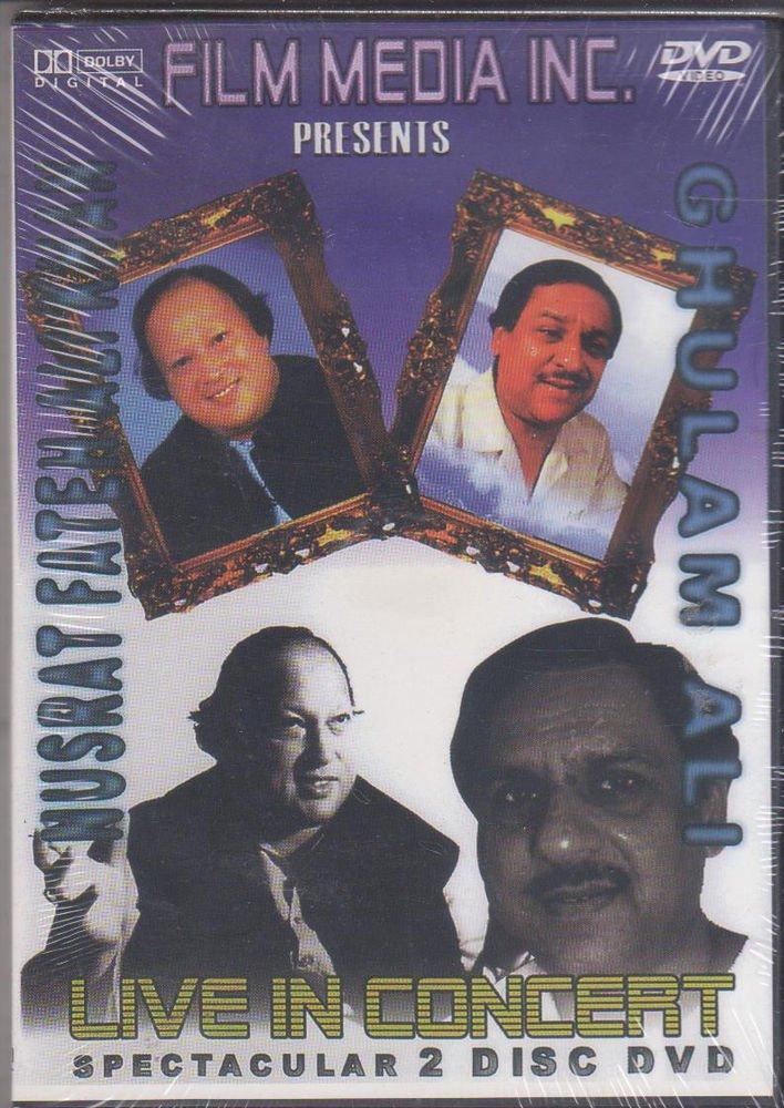Nusrat Fateh ali Khan / Ghulam ali - Live In Concert   [2Dvd' set] Collector's