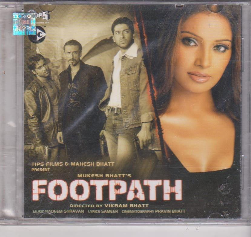 footpath - Bpasa basu , aftab [Cd] Music : Nadeem shrawan