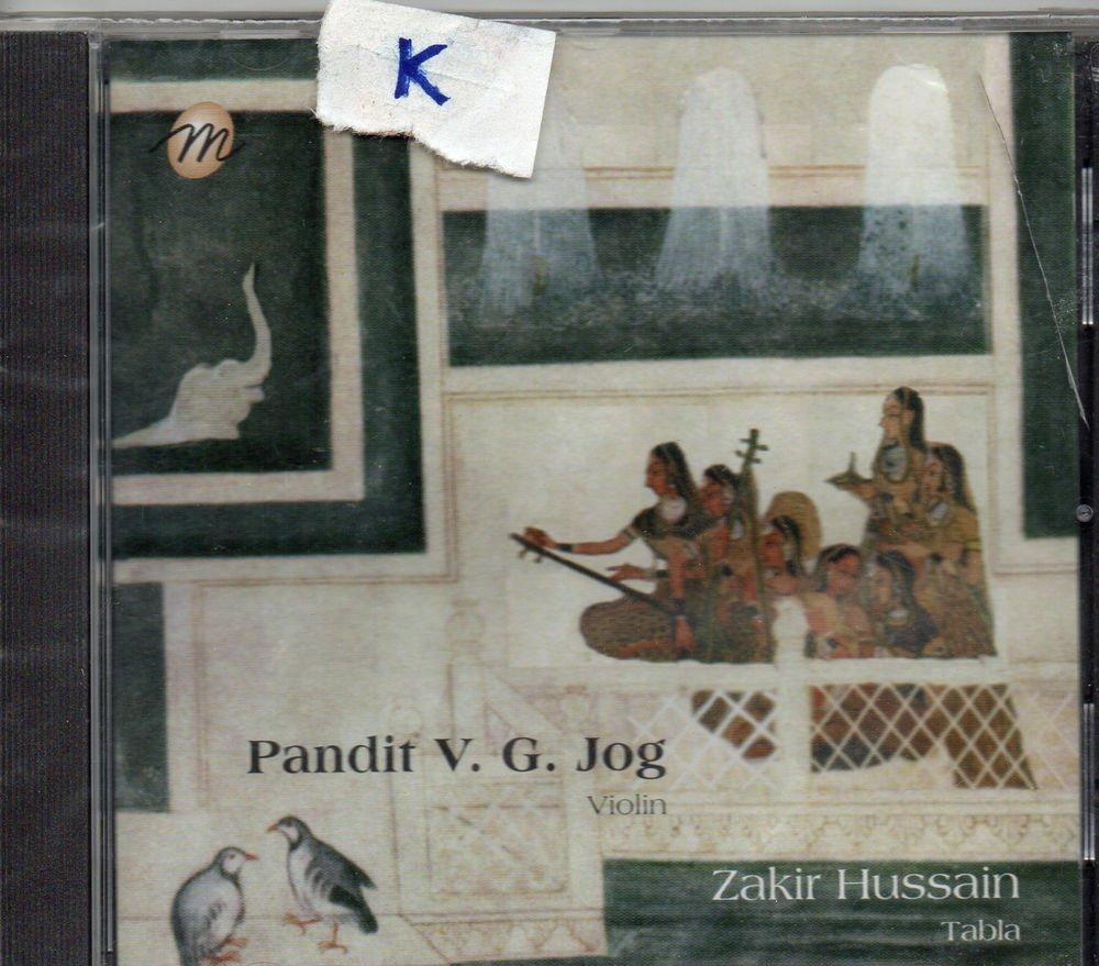 Pandit V G Jog - Violin - Zakir Hussain - tabla  [Cd ]