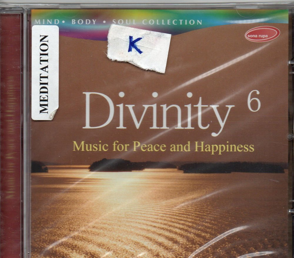 Divinity 6 - Music For Peace and happiness  [Cd ] Mind Body soul Collection