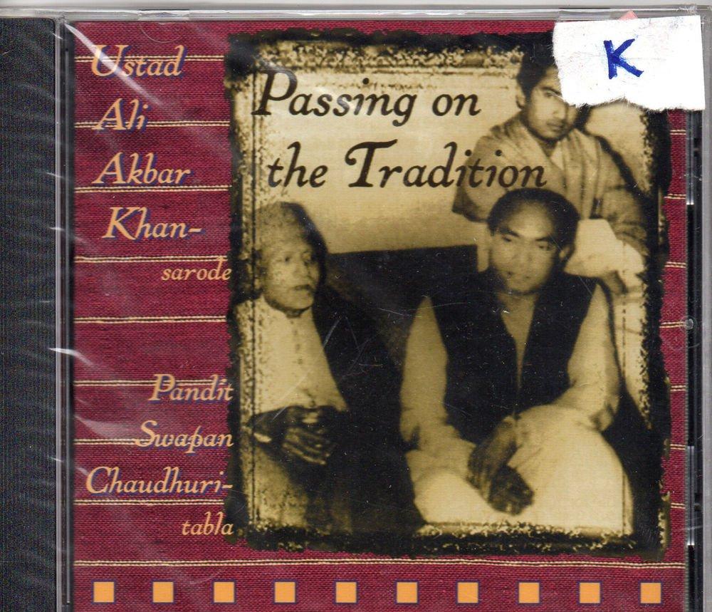 Ust Ali Akbar Khan - Passing On Tradition [Cd ] Tabla : swapan Chaudhuri