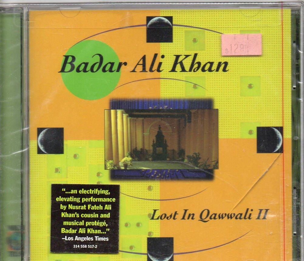 Badar Ali Khan - Lost IN Qawali II[Cd]  Baba Records Released