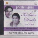 Priceless Gems Kishore Duets with Lata Mangeshkar Vol 1 [ Cd] USA Made Cd
