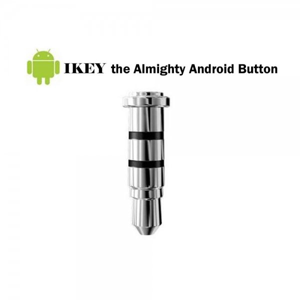 Original ikey Press Button Slim & Smart Shortcut Customized Cool Gadget for Android Devices