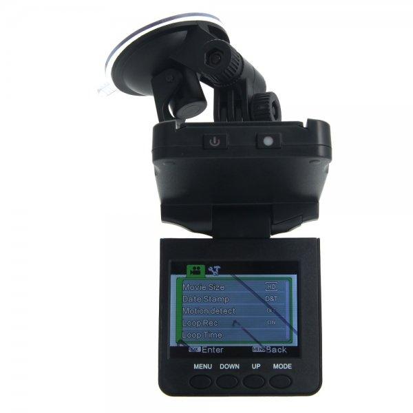 "2.5"" HD New USB 2.0 6 IR LED Night Vision 270° Rotating Car DVR Video Recorder"