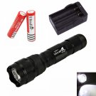 UltraFire WF-502B CREE XM-L T6 1000LM 5 Mode LED Flashlight Torch (US ONLY)
