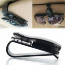 Practical Car Clip Holder for Sunglasses Glasses Transparent Black