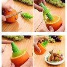 Lemon Juice Sprayer Citrus Spray Hand Fruit Juicer Mini Squeezer Lime Tool Green