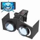 VR Fold V1 Foldable Private Theater Immersive Game Video 3D Virtual Reality Glasses for Smartphone