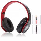 OV-X8 Foldable 3.5mm Headphone Headset with Mic for iPhone PC Laptop Black