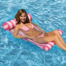 Swimming Floating Bed Water Hammock Water Recreation Red & White